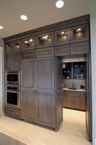 butlers pantry transitional kitchen