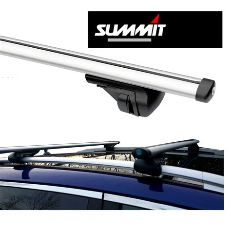 Cross Bar Hitam Jepit Roof Rail Mitsubishi Pajero Sport 2015 roof bars rack aluminium locking cross rails fits
