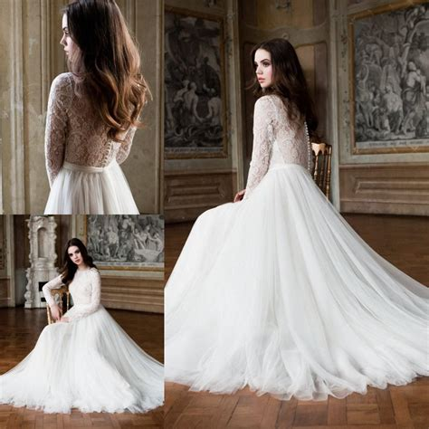 Christian New Button Longstrap Code Y6632 plus size wedding gowns lace sleeves wedding gowns a