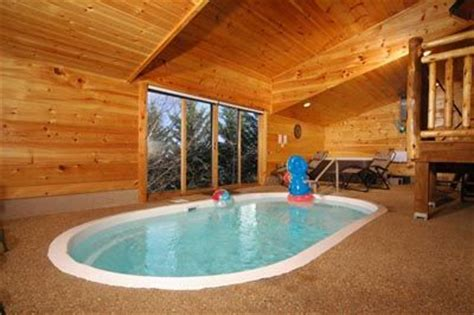 Cabins In Tennessee With Indoor Pool by Poolin Around 1 Bedroom Cabin With Pool Inside Pigeon