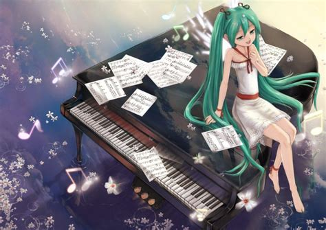 anime piano music anime wallpapers wallpaper cave