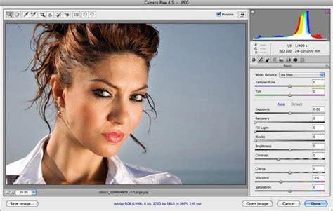 Tutorial Photoshop Raw | working in adobe camera raw acr adobe camera raw tips