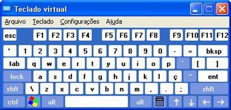 imagenes teclado virtual dicas rapidas como abrir o teclado virtual no windows xp