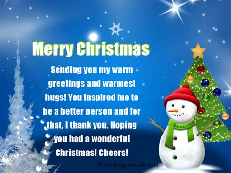 Inspirational Greeting Card Messages wonderful message merry and happy