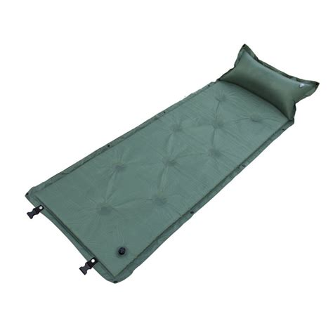 cm single person inflatable air mattress pillow