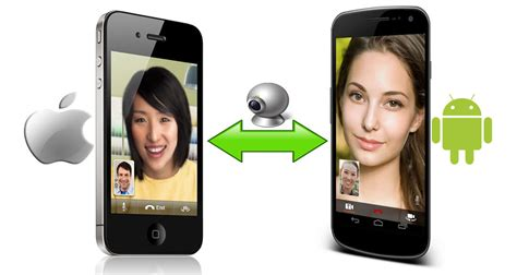 facetime from iphone to android how to make calls between android and iphone