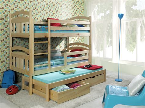 cool bunk beds for teenagers 3 popular types of triple bunk beds with cool features