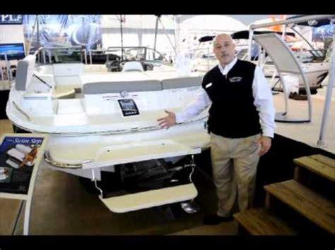 boat with no swim platform cobalt swim platform youtube