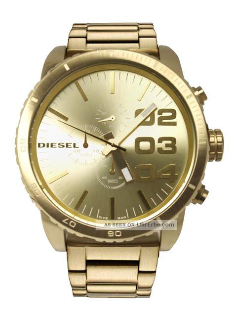 Diesel Gold diesel herrenuhr chronograph 46mm gold xl armbanduhr dz4268