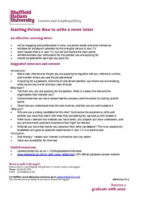covering letter to apply for a covering letter careers central