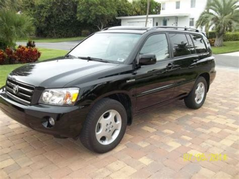 auto air conditioning repair 2003 toyota highlander security system sell used 2004 toyota highlander limited no reserve in jupiter florida united states