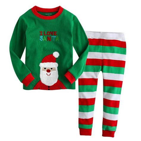 Boys Christmas Outfit Size 8 | 2 8y christmas kids baby girls boys home sleepwear outfits
