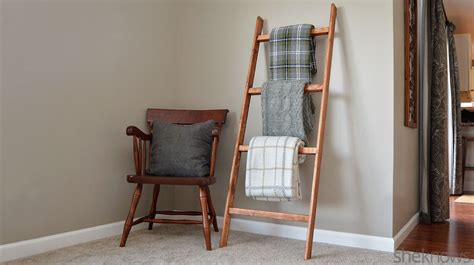 Make Wood Trellis How To Make A Blanket Ladder An Easy Diy Project Perfect