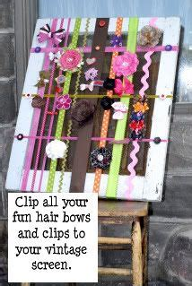 thrifty decorating old window hairbow holder 1000 images about craft shows display ideas on pinterest
