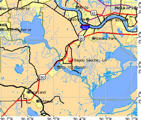 louisiana real estate map bayou gauche louisiana la 70030 70080 profile