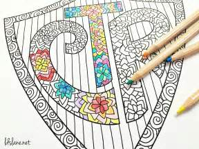 ctr shield coloring page ctr coloring page