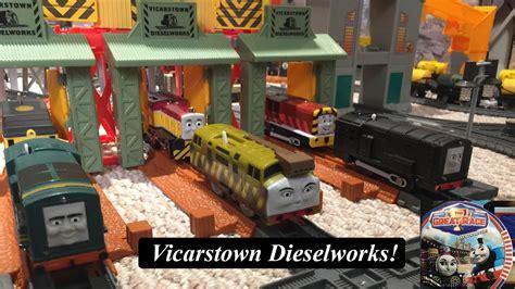 thomas  friends sodor landmark trackmaster vicarstown
