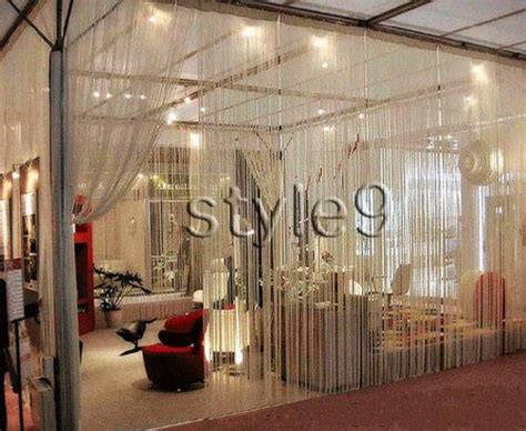 room divider beads curtain string curtain with beads fringe panel room divider