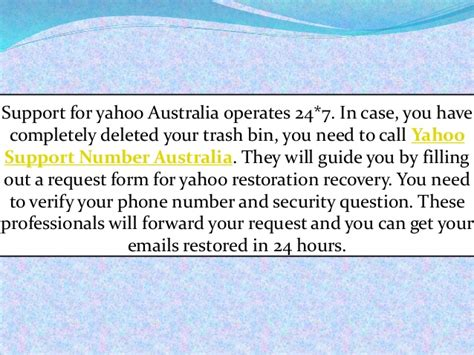 email yahoo australia contact yahoo support australia to recover missing emails