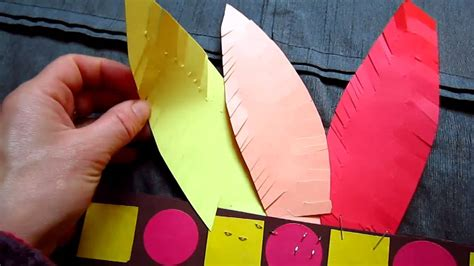 Paper Hats For Preschoolers - arts crafts red indian paper hat