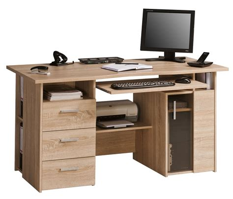 Office Computer Desk Maja Capital Oak Computer Desk