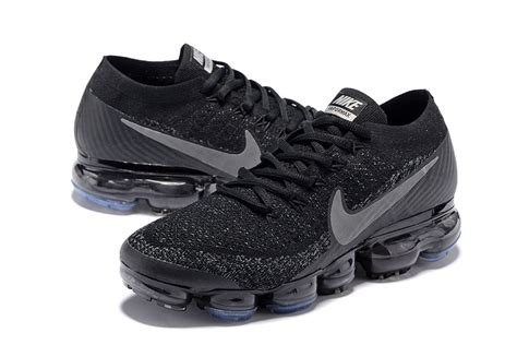 cheap nike athletic shoes discount nike air vapormax flyknit 2018 black gery 849558