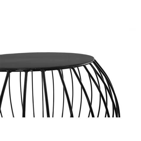 Table D Appoint Metal Noir by Table D Appoint Quot Boule Quot En M 233 Tal Noir