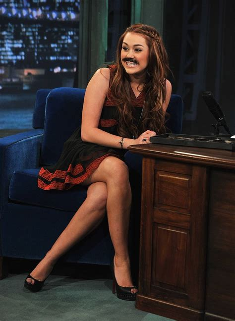 madelaine petsch on jimmy fallon miley cyrus with mustaches at jimmy fallon 11 gotceleb