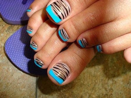 Simple Toenail by Simple Toenail Designs For Beginners To Do At Home