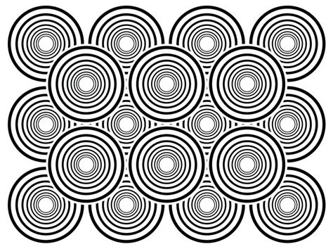 best printable optical illusions illusion coloring pages free download best illusion