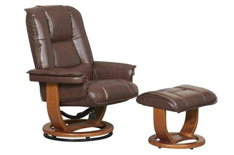 recliner and ottoman set pluto r 116 series leather recliner and ottoman set by