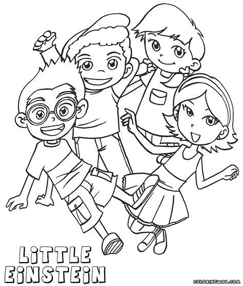 little einsteins coloring games online free image