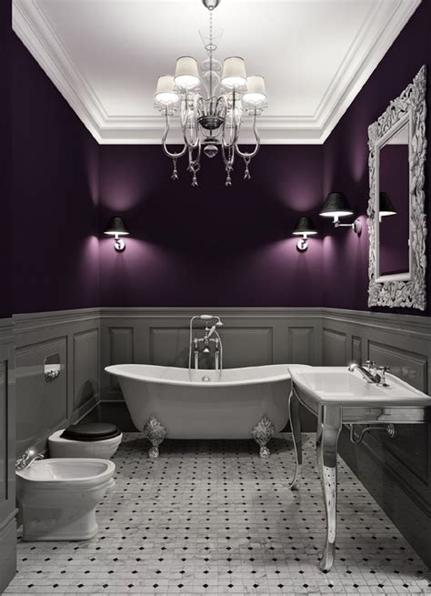 plum bathroom paint oh yes this is my color basement pinterest the