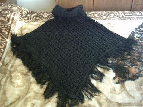como hacer ruana ruanas en crochet paso a paso imagui