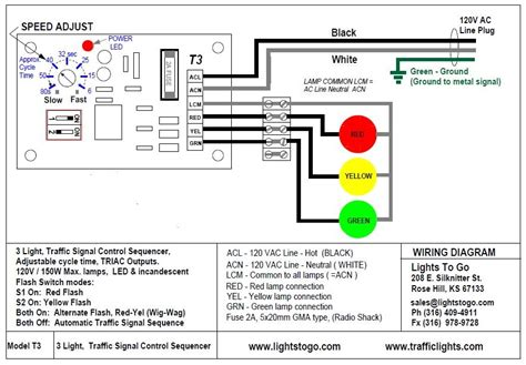 traffic signal light wiring wiring diagrams wiring