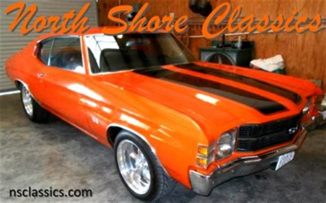 shore classics 1971 chevrolet chevelle hugger orange paint