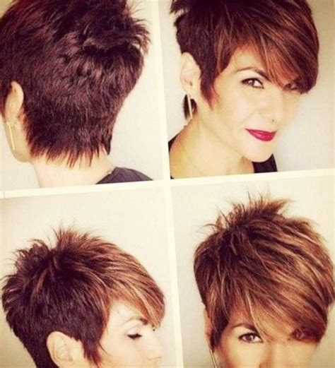 hair colors for pixie cuts longger pixie cut with long bangs gray hair color ideas