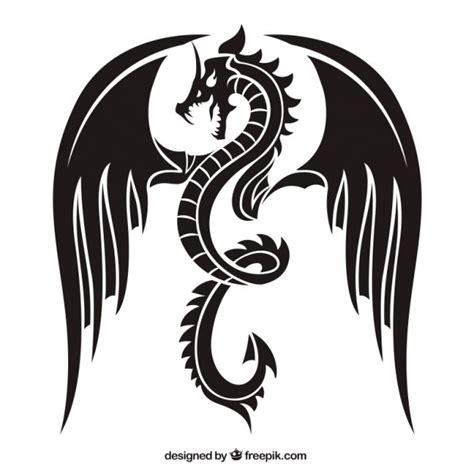 dragon vectors   psd files