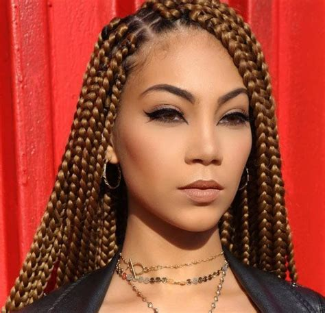 different colors for box braids 35 bombass ways to style your bodacious box braids 30th