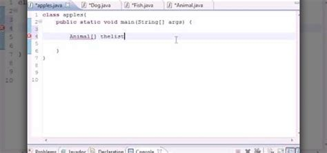 simple swing program in java how to create a simple polymorphic program in java 171 java