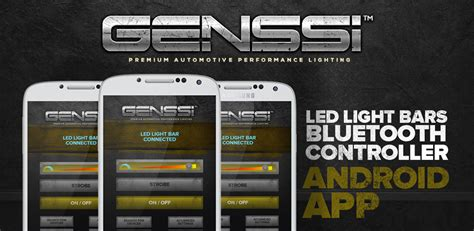 Genssi Led Light Bar Review Genssi Led Light Bars Bluetooth Controller Co Uk Appstore For Android