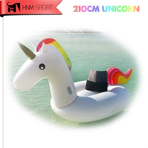 swimming pool sofa 83inch 2 1m gaint inflatable unicorns air mattresses air