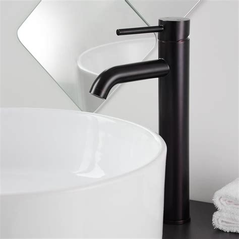 Vessel Sink Faucet Rubbed Bronze by 12 Quot Bathroom Vessel Sink Faucet Chrome Brushed Nickel