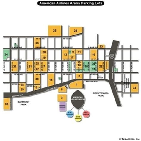 American Airlines Arena Parking Garage american airlines arena parking lots seating charts