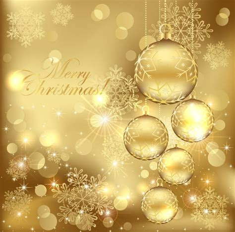 xmas wallpaper gold free christmas backgrounds free vector download 48 193