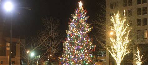 tree lighting song downtown youngstown lights up tonight parade tree lighting and more vindy