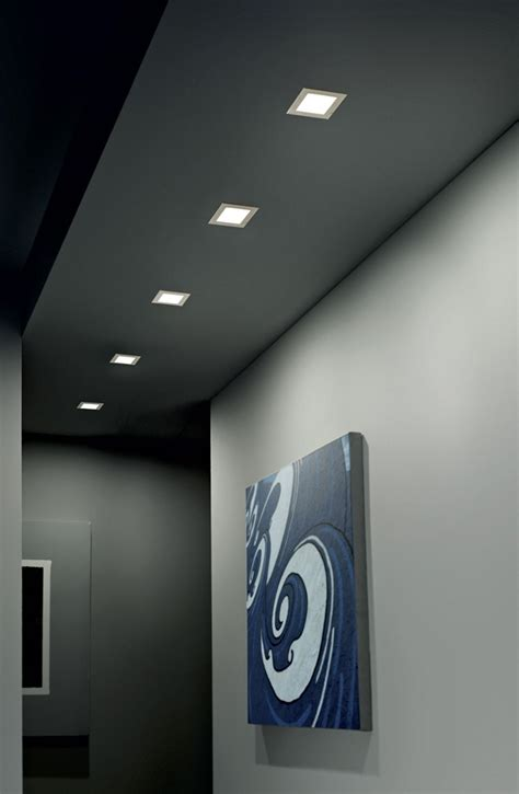 faretti controsoffitto led faretto led da incasso box