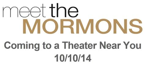 lds filmmovies by latter day saintslds videosutah premiere of movie meet the mormons lds media talk new