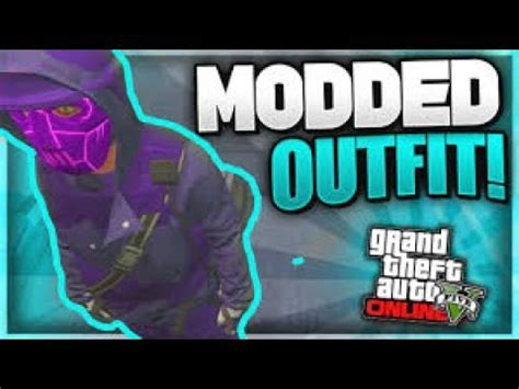 gta 5 online | create a modded outfit using clothing
