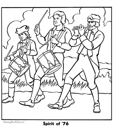 patriotic symbols coloring pages coloring home